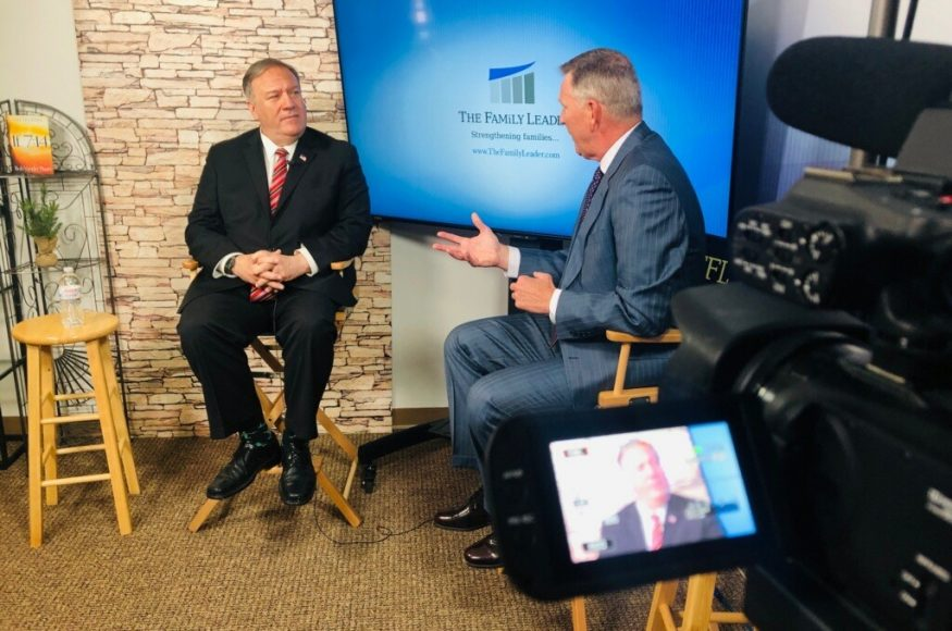 FEATURED VIDEO:  MIKE POMPEO VISITS THE FAMiLY LEADER